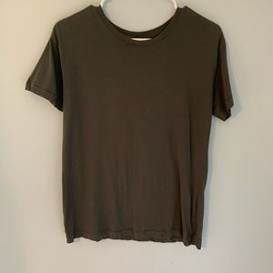 Divided size xsmall cement colored T-shirt